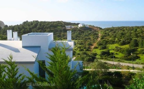 view from the Burgau villa - Surf and Yoga Retreat in Portugal - Chicks on Waves - A World to Travel