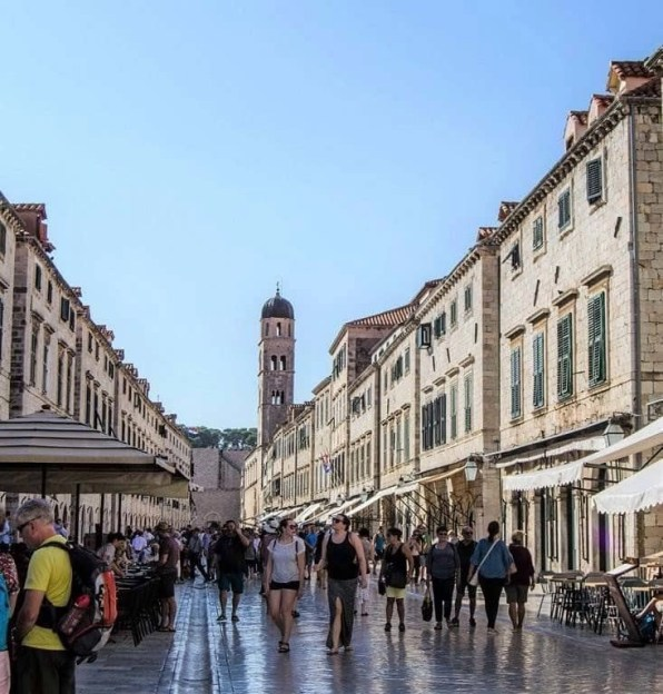 Dubrovnik main street - 10 Day Croatia Itinerary From Dubrovnik to Zagreb - A World to Travel