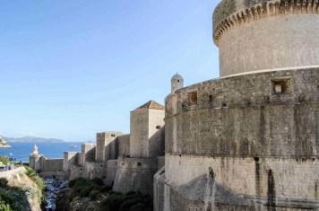 Dubrovnik ramparts and castle - 10 Day Croatia Itinerary From Dubrovnik to Zagreb - A World to Travel