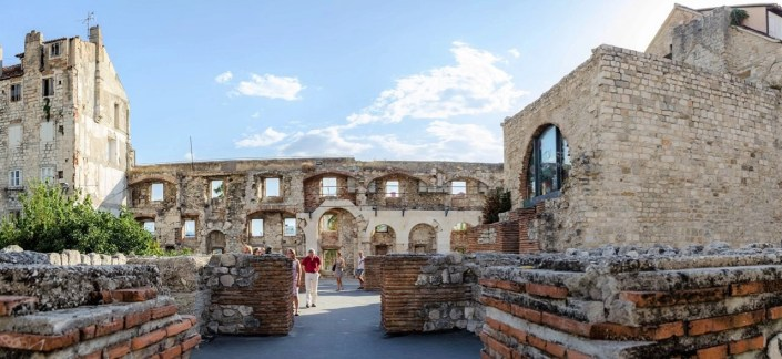 Split ruins - 10 Day Croatia Itinerary From Dubrovnik to Zagreb - A World to Travel