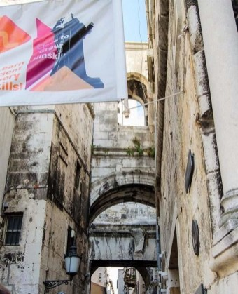 Split streets - 10 Day Croatia Itinerary From Dubrovnik to Zagreb - A World to Travel