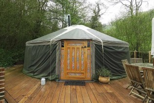 Yurt 3 - South Wales Glamping Hidden Valley Yurts Review - A World to Travel