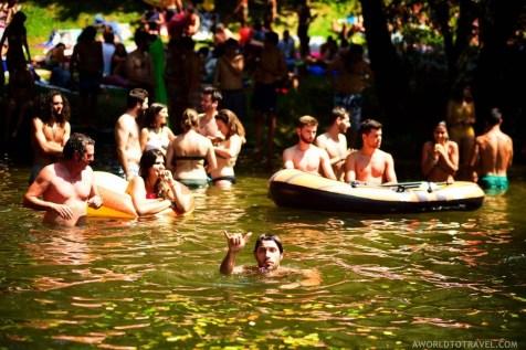 Taboao river beach - Paredes de Coura festival 2018 - A World to Travel (1)