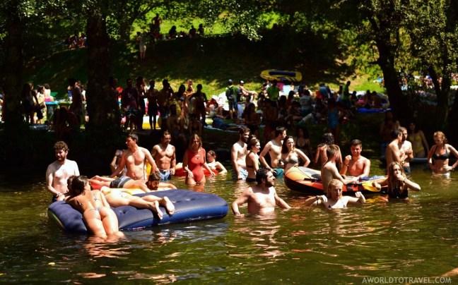 Taboao river beach - Paredes de Coura festival 2018 - A World to Travel (5)