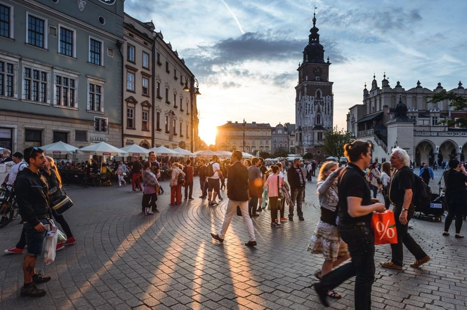 Krakow at sunset - Holocaust Sites and Jewish Heritage Cities in Poland - A World to Travel