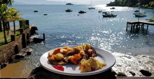 Breakfast View - Paraty - Here's How To Road Trip 5 Brazilian Cities In Two Weeks - A World to Travel