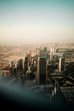 Dubai from the plane window - Fun Activities In Dubai Worth Checking Out - A World to Travel