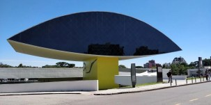 Oscar Niemeyer Museum in Curitiba - Here's How To Road Trip 5 Brazilian Cities In Two Weeks - A World to Travel