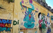 Street Art in Curitiba (1) - Here's How To Road Trip 5 Brazilian Cities In Two Weeks - A World to Travel