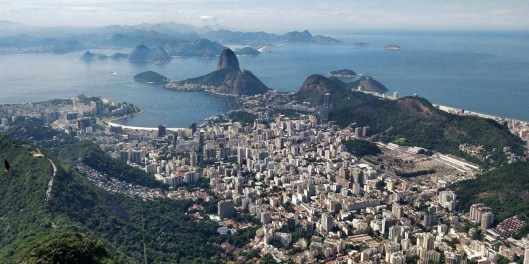 The View from Christ the Redeemer - Rio de Janeiro - Here's How To Road Trip 5 Brazilian Cities In Two Weeks - A World to Travel