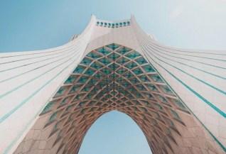 Azadi Square - Tehran - Iran - Silk Road Travel - A Central Asia Overland Trip - A World to Travel