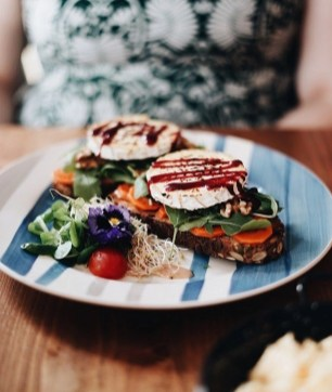 Goat Cheese salad - Best Czech Food In Prague - Must Try Dishes - A World to Travel (5)