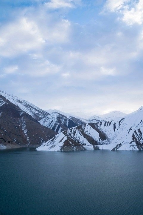 Karaj lake - Iran - Silk Road Travel - A Central Asia Overland Trip - A World to Travel