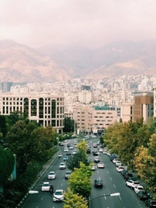 Kaveh Blvd - Tehran - Iran - Silk Road Travel - A Central Asia Overland Trip - A World to Travel