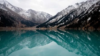 Kazakhstan lake - Silk Road Travel - A Central Asia Overland Trip - A World to Travel