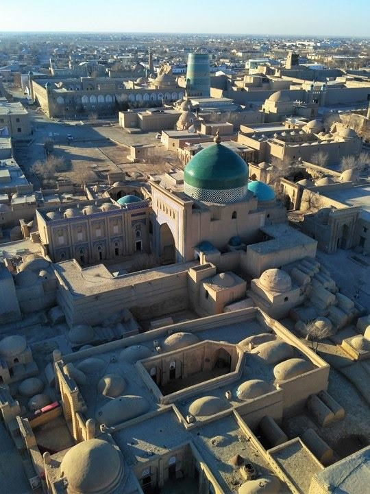 Khiva - Uzbekistan (2) - Silk Road Travel - A Central Asia Overland Trip - A World to Travel