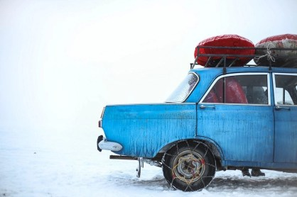 Kyrgyzstan car - Silk Road Travel - A Central Asia Overland Trip - A World to Travel