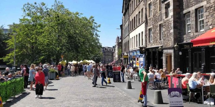 Lunch at Grassmarket 1 - How To Make The Most Of 2 Days In Edinburgh - A World to Travel