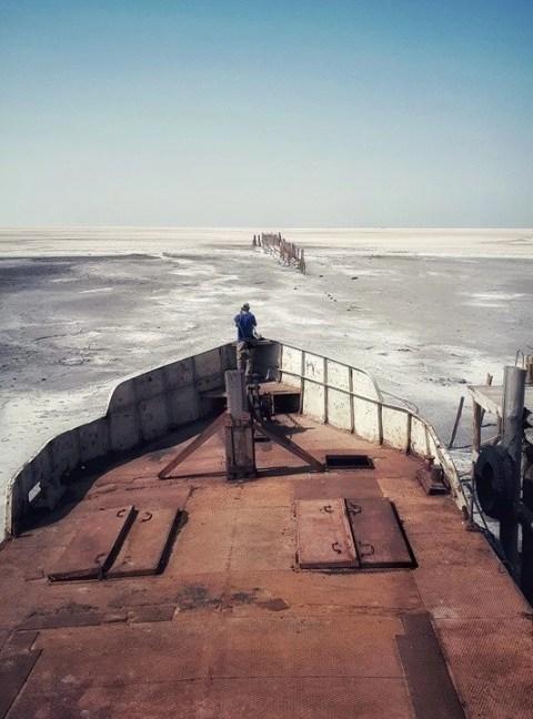 Sharafkhaneh - Urmia Lake - Iran - Silk Road Travel - A Central Asia Overland Trip - A World to Travel