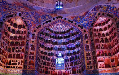 Sheikh Safi Al-Din Ardabili's Shrine - Ardabil - Iran - Silk Road Travel - A Central Asia Overland Trip - A World to Travel