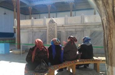 The shrine of the Sufi saint Baha al-Din al-Naqshbandi - Uzbekistan - Silk Road Travel - A Central Asia Overland Trip - A World to Travel