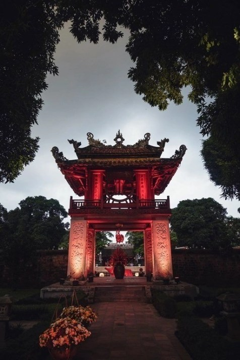58 Quoc Tu Giam - Things To Do In Hanoi Vietnam - 4 Day Itinerary - A World to Travel