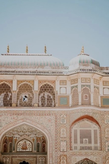 Amber Palace detail - Fun Budget Things To Do In Jaipur - A Budget Guide To The City - A World to Travel