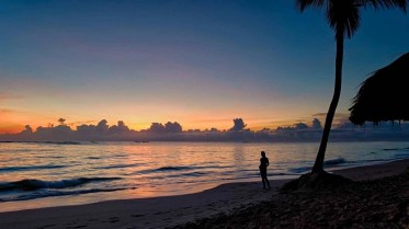 Punta Cana perfect sunsets - Best Beaches In Dominican Republic Road Trip - A World to Travel