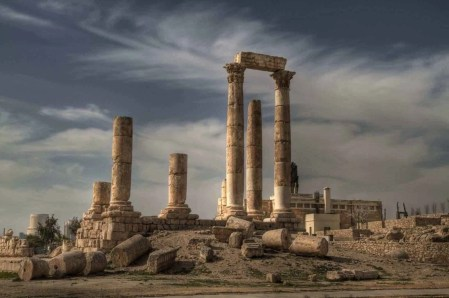 Citadel - Must visit Amman places - A World to Travel