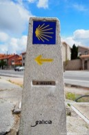 A Muxia sign - Camino Fisterra Muxia - A World to Travel