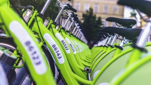 Budapest bikes - How To Reduce Your Carbon Footprint When Traveling - A World to Travel