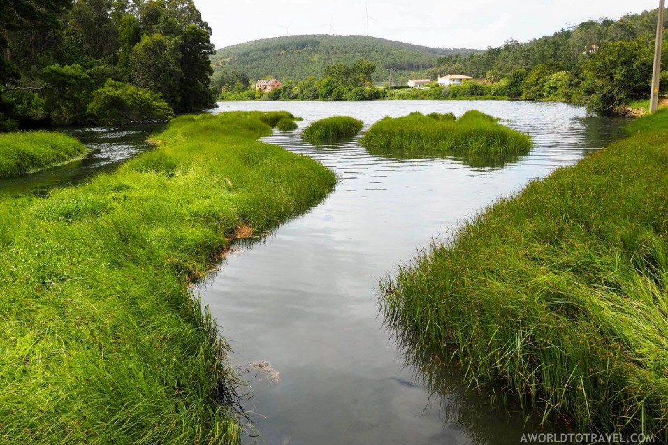 Lires estuary in Galicia - A World to Travel