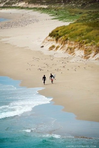 Nemiña surf beach in Galicia - A World to Travel
