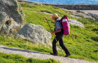 Pilgrim in Muxia Galicia - A World to Travel