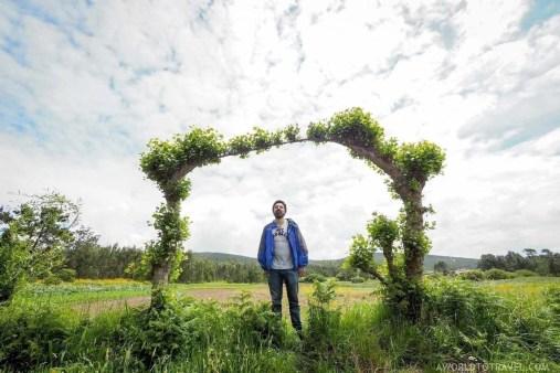 Random countryside door in Galicia - A World to Travel