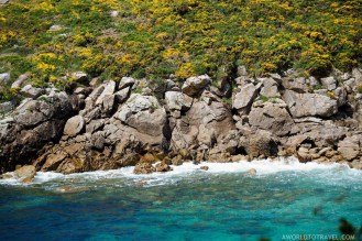 Turquoise Galician coastline - A World to Travel