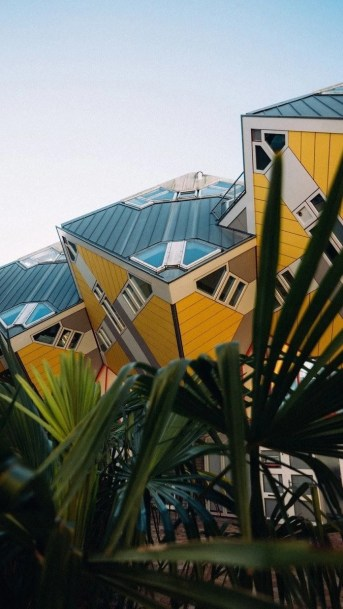 Cube Houses - Modern Dutch architecture - A World to Travel