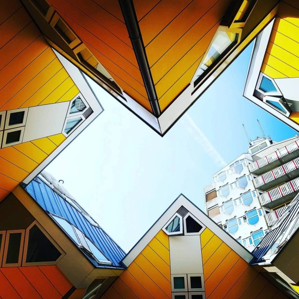 Yellow Cube Houses - Rotterdam Architecture Guide - A World to Travel