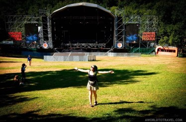Before the storm - Vodafone Paredes de Coura music festival 2019 - A World to Travel