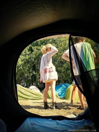 Camping area (1) - Vodafone Paredes de Coura music festival 2019 - A World to Travel
