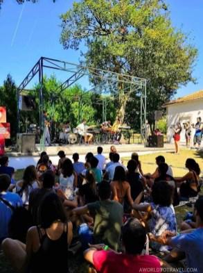 Capitao Fausto - Vodafone Music Sessions - Vodafone Paredes de Coura music festival 2019 - A World to Travel