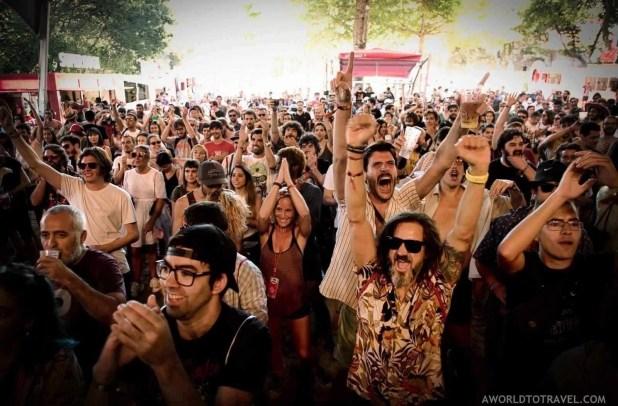 Derby Motoreta's Burrito Kachimba (4) - Vodafone Paredes de Coura music festival 2019 - A World to Travel