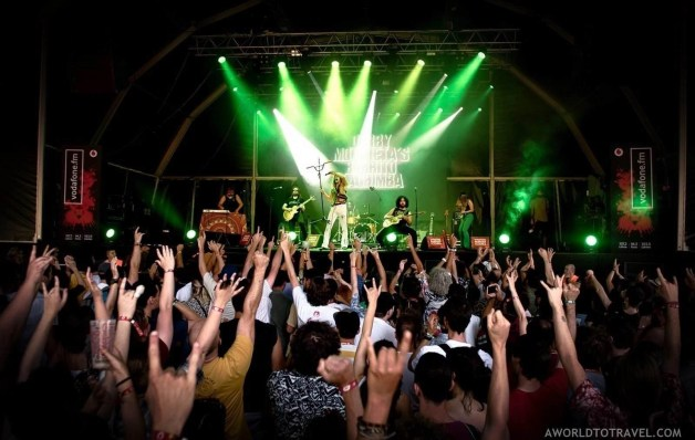 Derby Motoreta's Burrito Kachimba (8) - Vodafone Paredes de Coura music festival 2019 - A World to Travel