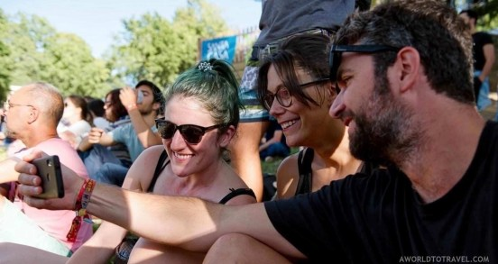 Friends and family (5) - Vodafone Paredes de Coura music festival 2019 - A World to Travel