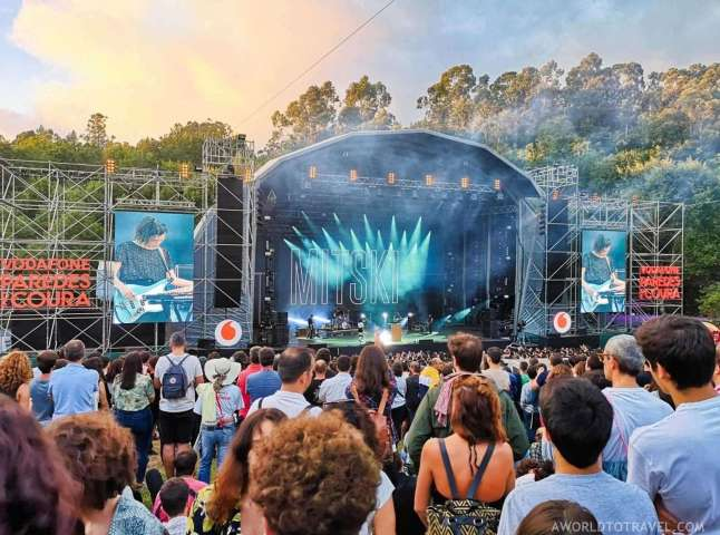 Mitski (9) - Vodafone Paredes de Coura music festival 2019 - A World to Travel