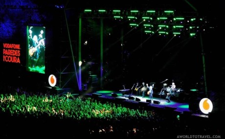 Patti Smith the legend (1) - Vodafone Paredes de Coura music festival 2019 - A World to Travel