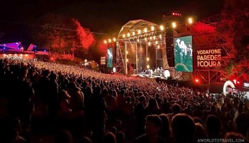 Patti Smith - Vodafone Paredes de Coura music festival 2019 - A World to Travel