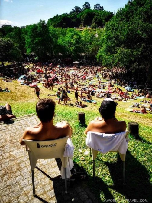 Taboao River beach (6) - Vodafone Paredes de Coura music festival 2019 - A World to Travel