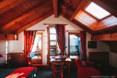 Hôtel Chalet Saint Georges in Megeve France - A World to Travel (1)