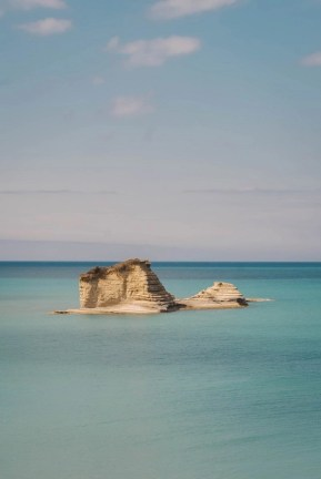 Standing rocks in the island of Corfu - A World to Travel